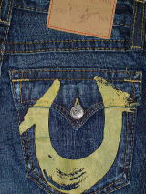 TRUE RELIGION BILLY YELLOW PAINTED 411掲載