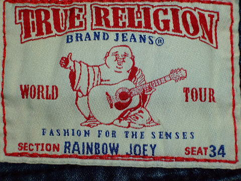トゥルーリリジョン RAINBOW TRUE RELIGION RAINBOW