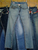 TRUE RELIGION DENIM SAFARITRUE RELIGION RICKY BIG QT STYLE:M24859QBQT2 COLOR:PHL-FAIRFAX MADE IN U.S.A. 100%COTTON